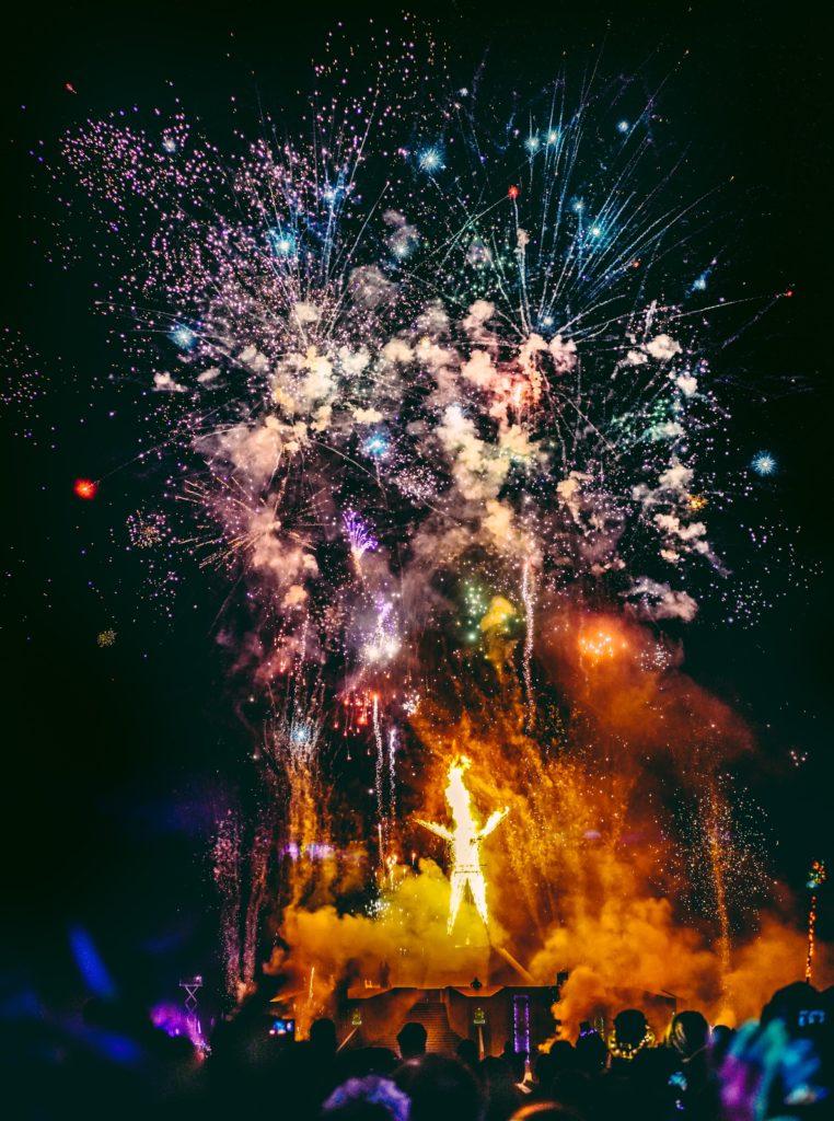 Santorini Firework shows