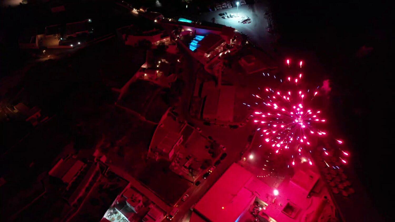 Festival Santorini Fireworks - 5
